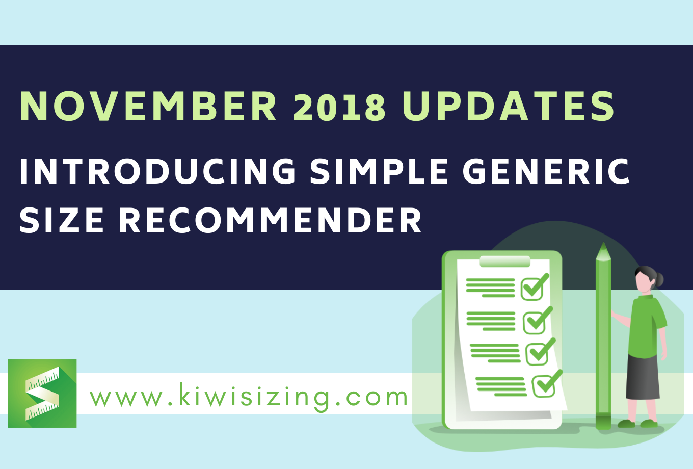 November 2018 Updates: Introducing Simple Generic Size Recommender