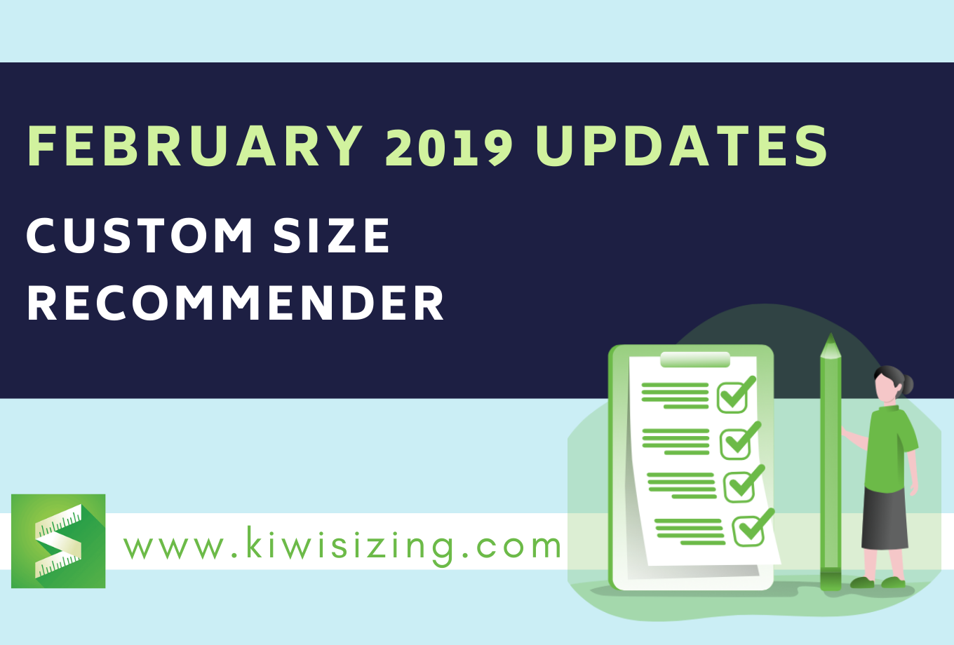 February 2019 Updates: Custom Size Recommender