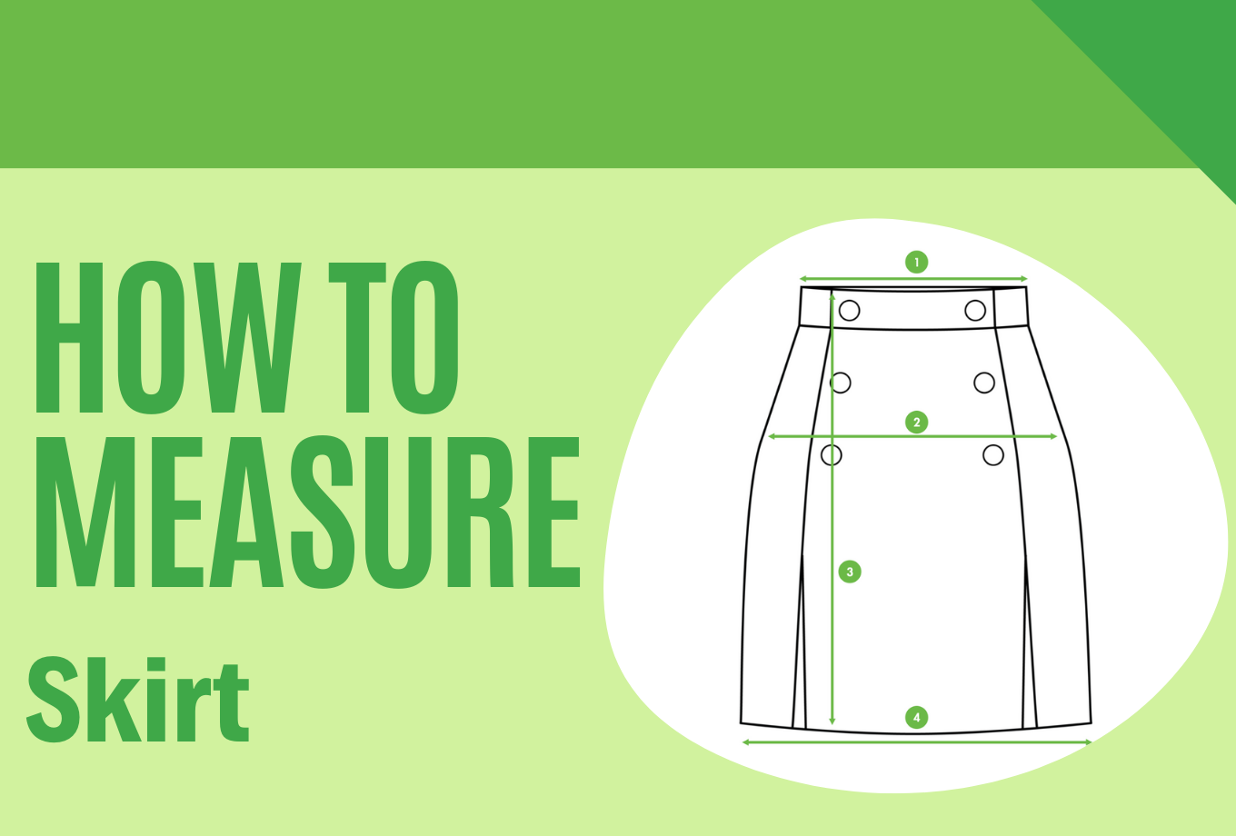 How to measure a Skirt