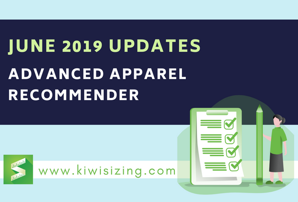 June 2019 Updates: Advanced Apparel Recommender