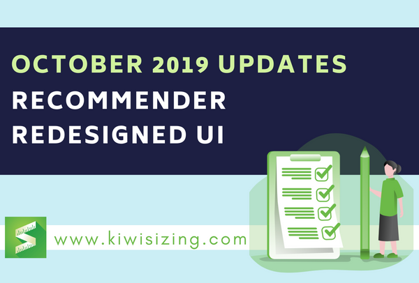 October 2019 Updates: recommender redesigned UI