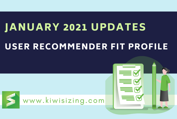 January 2021: User Recommender fit profile