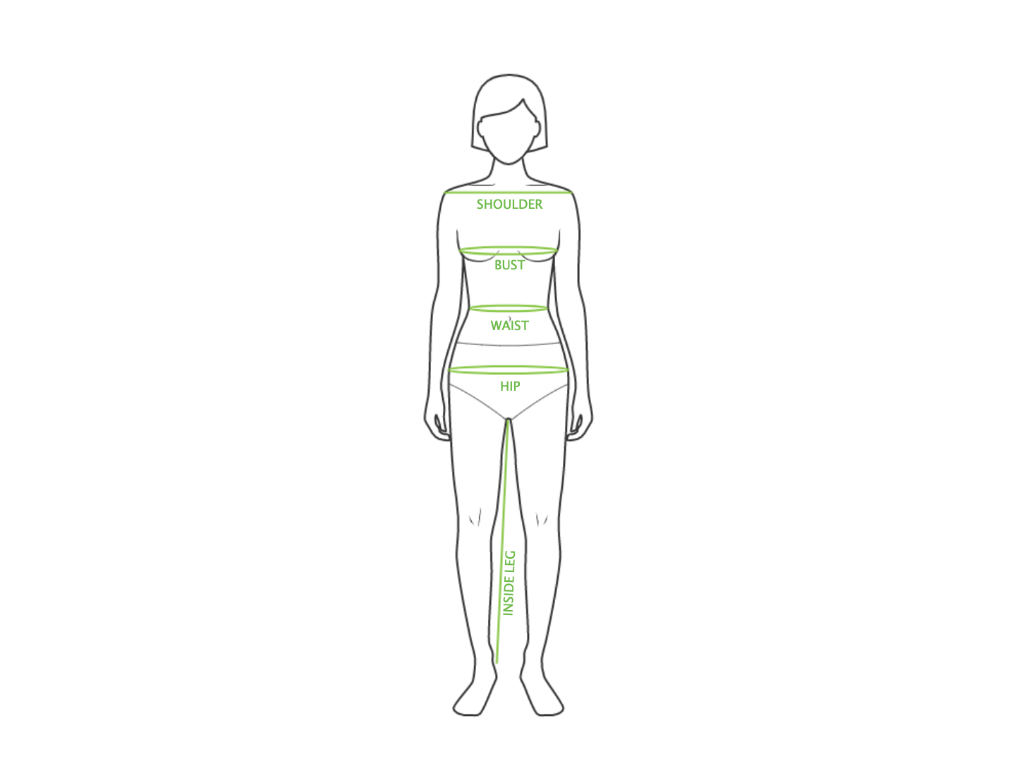 How to measure a skirt? Kiwi Sizing - Improve conversion and lower returns.