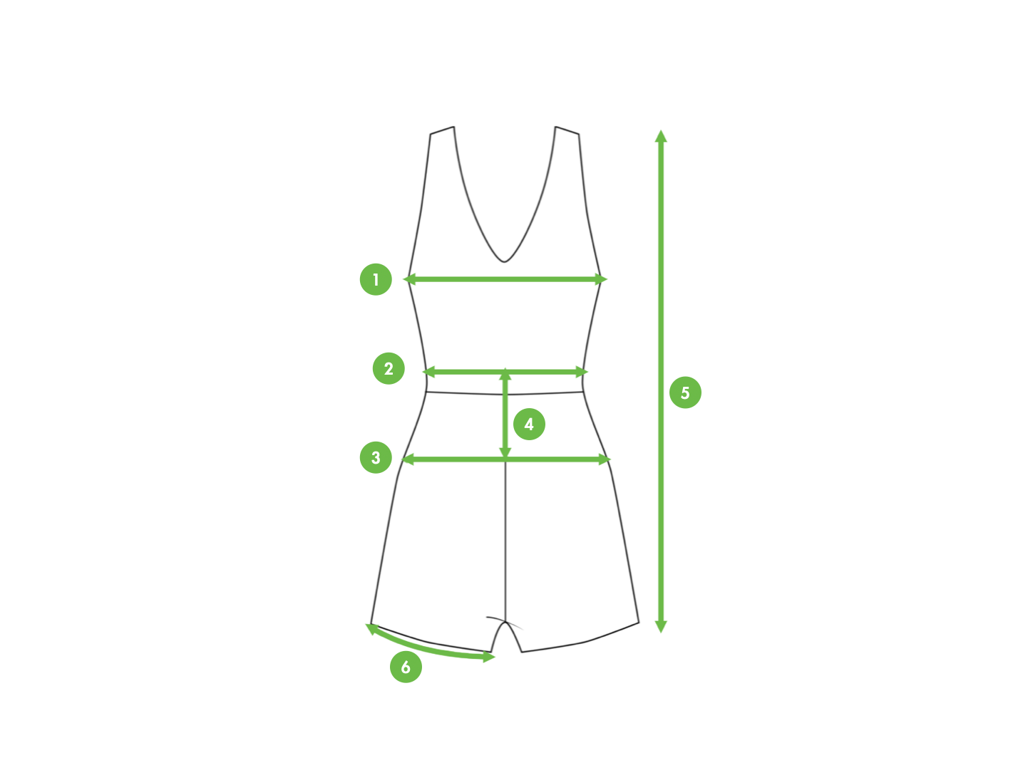 How To Measure A Romper? Kiwi Sizing - Improve conversion and lower returns.